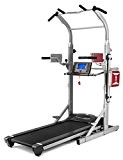 BH Fitness Tapis de course + machine de dominadas Cardio Tower F2 W
