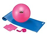 Body Coach Ensemble de pilates 5 en 1 avec Tapis gym Ballon de sangle Pompe et bande, 18334
