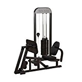 Body Solid jambe de presse/mollet de presse simple Station (210lb Stack)