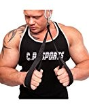 C.P. Sports Palm Grip Loops Tricep Rope CP Sports G11Ã' _ NFA by C.P. Sports