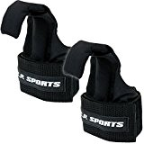 C.P. Sports T17-Professional-menton Lifting up crochets de levage Noir/sangles Velcro