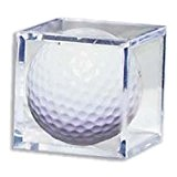 Golf Ball Acrylic Display Case Cube by Golf Cube Case