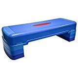 Hansson.sports fitness step d'aérobic 90 x 32 cm ajustable en 3 points