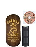 INDO Board à bascule Lot d'équilibre - Marron