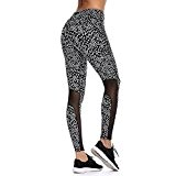 INIBUD Legging Sport Femme Pantalon de Sport Femme Yoga PRO Collant de Compression Fluo UV50+ pour Jogging Fitness Musculation Pilates ...