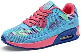 Padgene Femme Baskets Sports Trainers Réspirant A Lacets