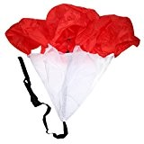 Parachute de Course Speed Running Football Training Résistance Formation Vitesse Umbrella Courir Chute Rouge
