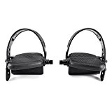 Pedales velo 1/2'' d'exercice Sangles Ajustable Gym Cycle Pedal Strap