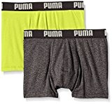 Puma Basic - Boxer - Lot de 2 - Uni - Homme