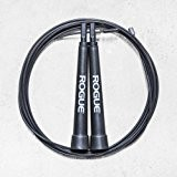 Rogue Fitness Black Speed Jump Rope 10' Feet Adjustable, Workout, Crossfit, NEW by Unknown