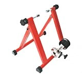 RT55max Turbo Trainer - Home trainer pliant pour vélo - Rouge