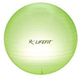 SULOV ballon fitness microns transparent, light green 65 cm, 65-01 f-gYM-t