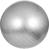 Swiss ball - Ballon de gym 55cm Gris