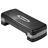 TecTake Aérobic Step fitness 200kg - fonction multiple - réglable en hauteur - Excellente qualité