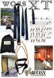 WOSS XT Suspension Trainer, Black, Made in USA