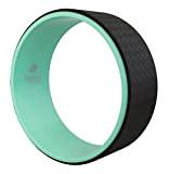Yoga Wheel - l'ultime appareil d'entraînement en turquoise